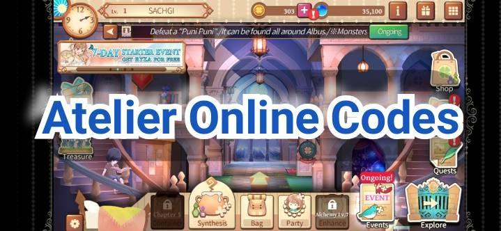 Atelier Online Codes
