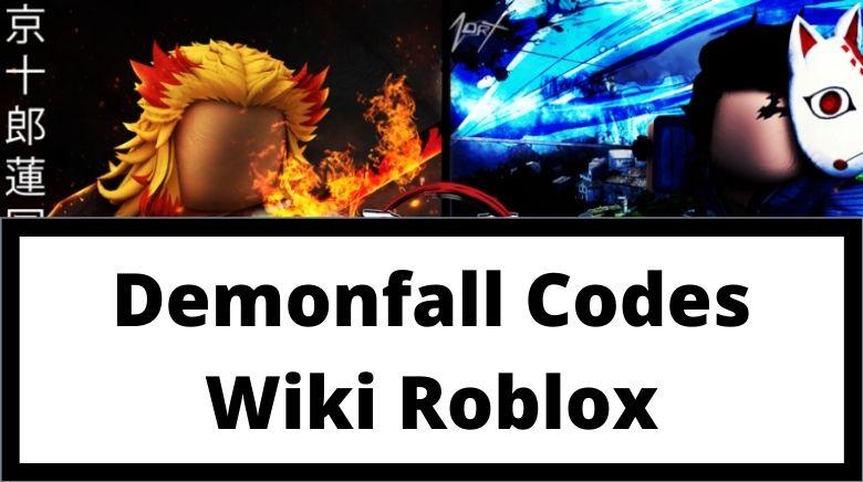Demonfall Codes Wiki Roblox