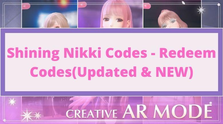 Shining Nikki Codes - Redeem Codes
