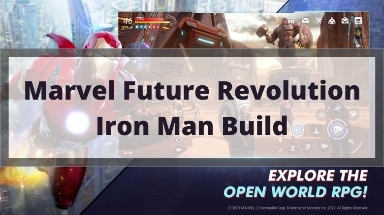 Marvel Future Revolution Iron Man Build
