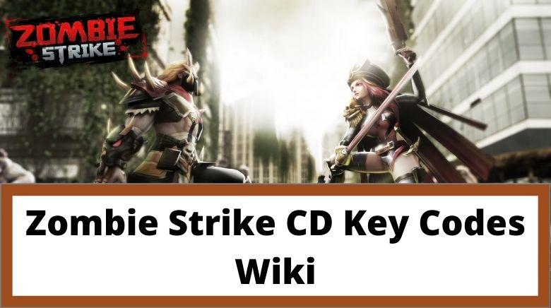 Zombie Strike CD Key Codes Wiki