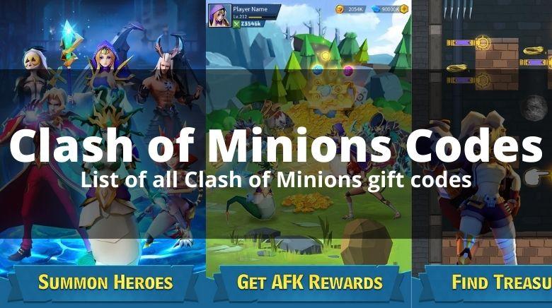 Clash of Minions Codes