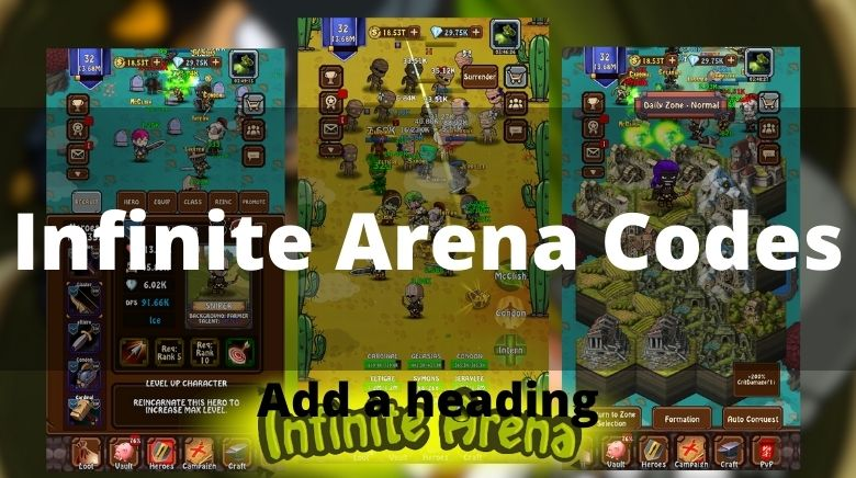 Infinite Arena Codes