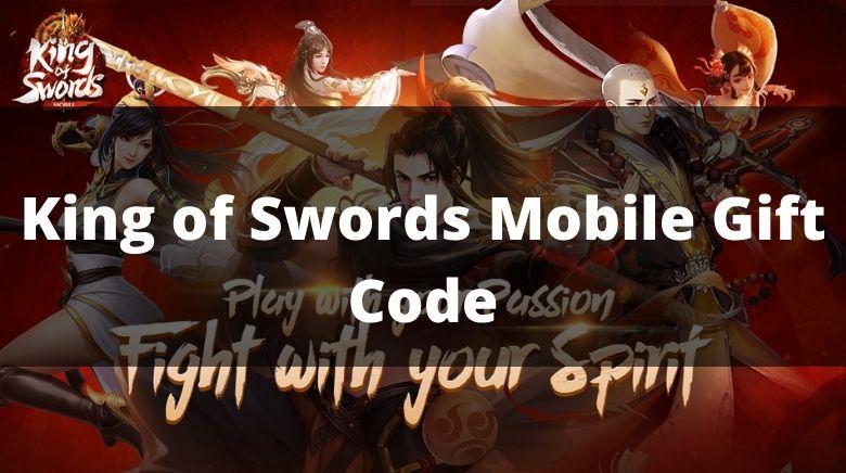 King of Swords Mobile Gift Code