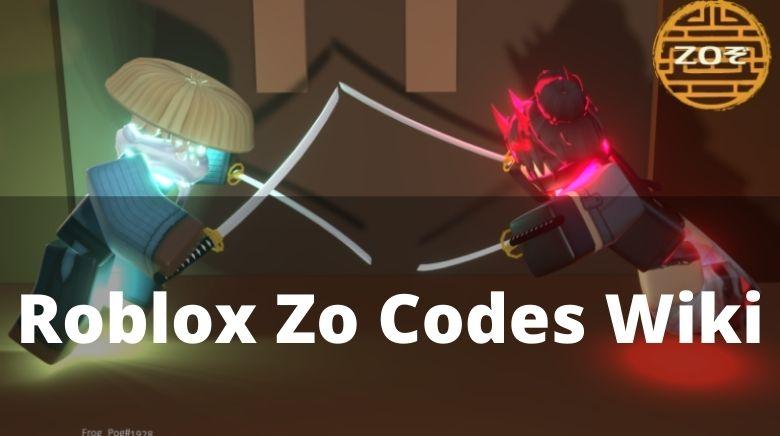 Roblox Zo Codes Wiki