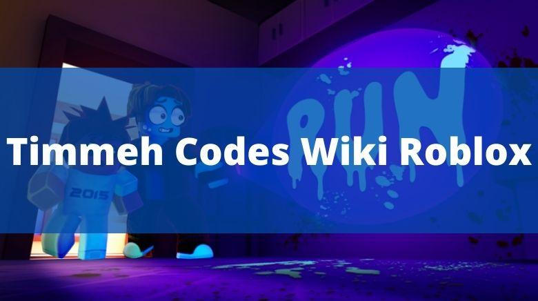 Timmeh Codes Wiki Roblox