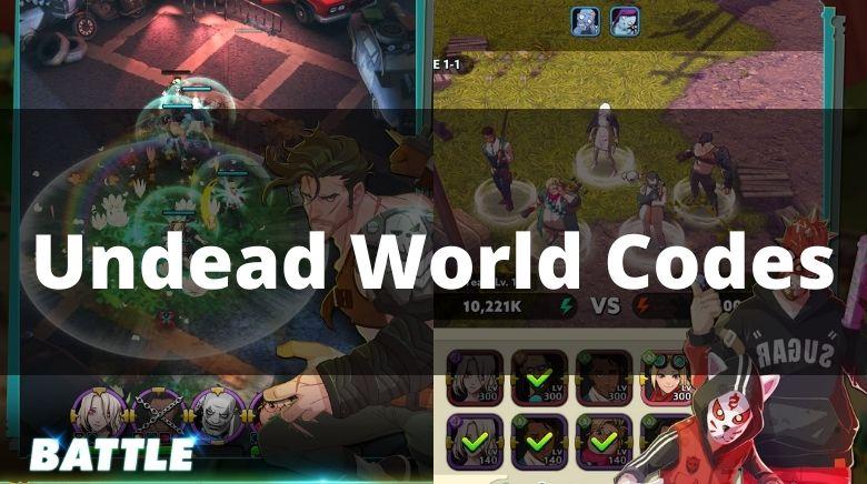 Undead World Codes