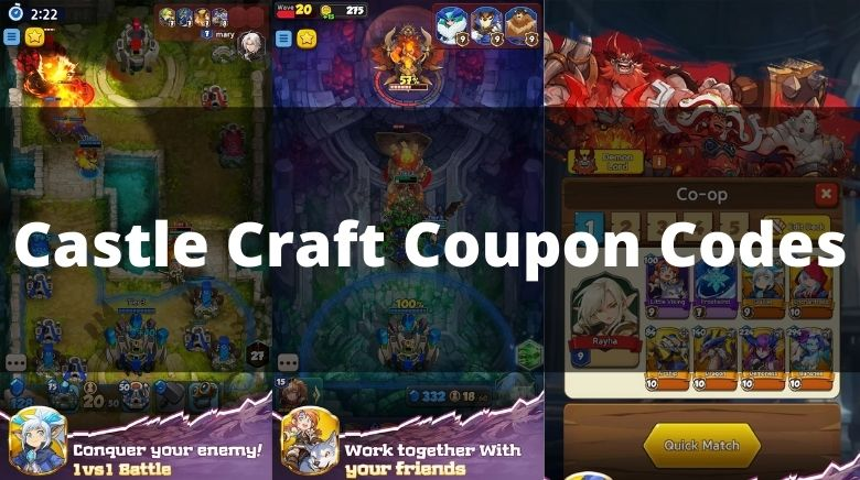 Castle Craft Coupon Codes