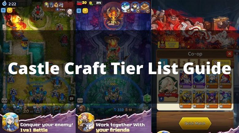 Castle Craft Tier List Guide